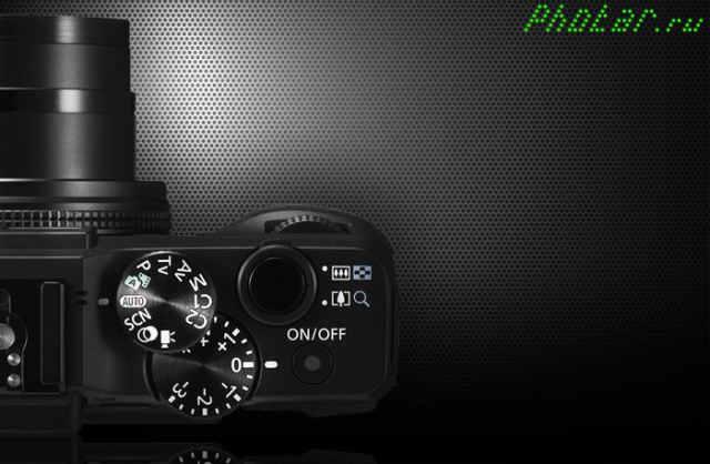 селектор Canon g16