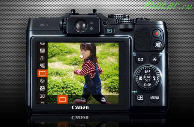 фотоаппарат canon g16 func