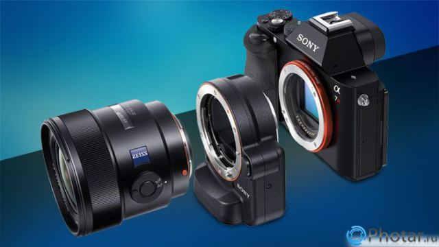 адаптер Sony Alpha 7 ILCE-7