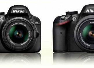 сравнение Nikon D3300 vs 3200