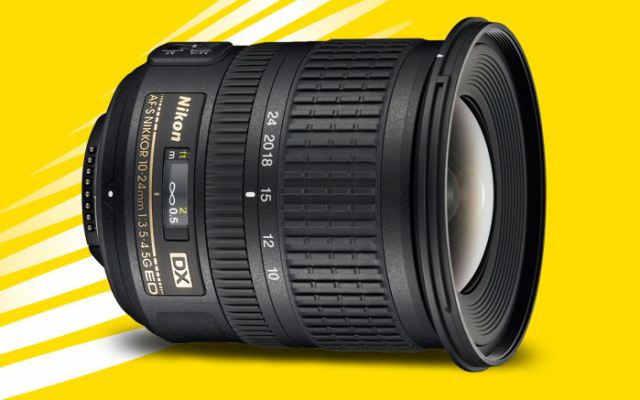 Nikon 10-24мм f/3.5-4.5G ED AF-S DX