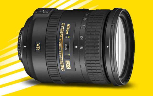 Nikon 18-200мм f3.5-5.6G ED VR II