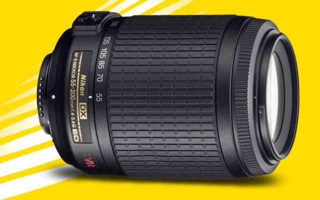 Nikon 55-200мм AF-S DX VR Zoom IF-ED VR