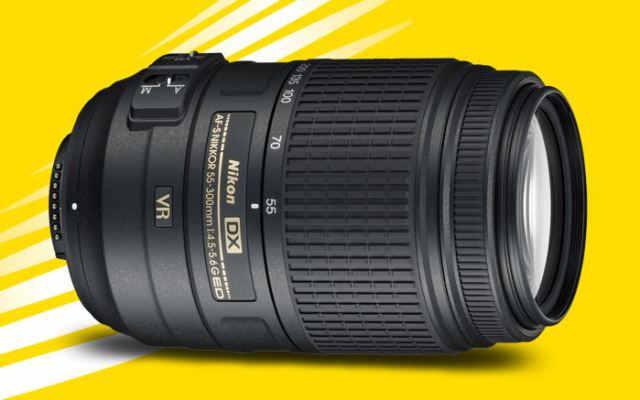 Nikon 55-300мм f4.5-5.6G ED VR AF-S DX