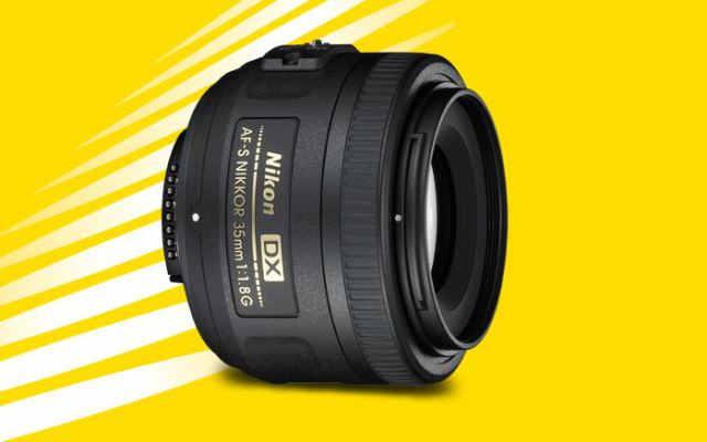 Nikon DX Format 35mm F1.8 Lens
