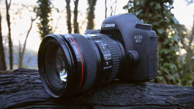 Лучший полнокадровый фотоаппарат Canon EOS 6D