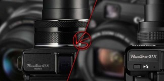 Сравнение Canon G1 X mark 2 против G1 X