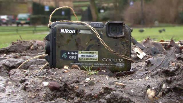 Самый лучший фотоаппарат с защищенным корпусом Nikon COOLPIX AW100