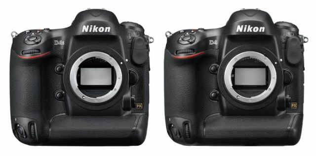 Nikon-D4s-vs-D4-body