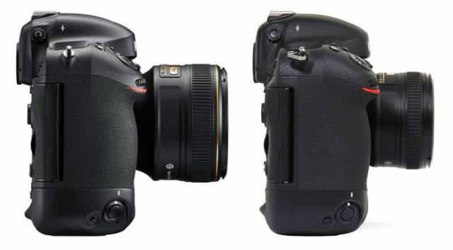 Nikon-D4s-vs-D4-right
