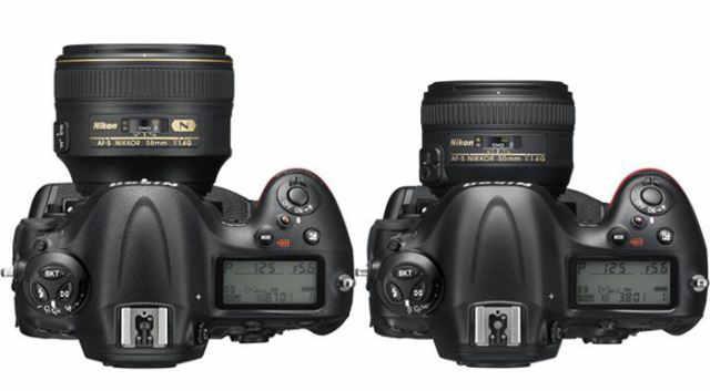 Nikon-D4s-vs-D4-top