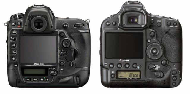 Nikon-D4s-vs-canon-1D-X-back