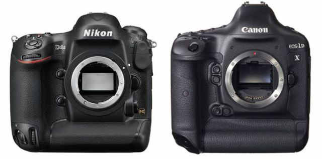 Nikon-D4s-vs-canon-1D-X-body