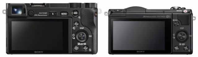 Sony-A6000 vs a5000_back