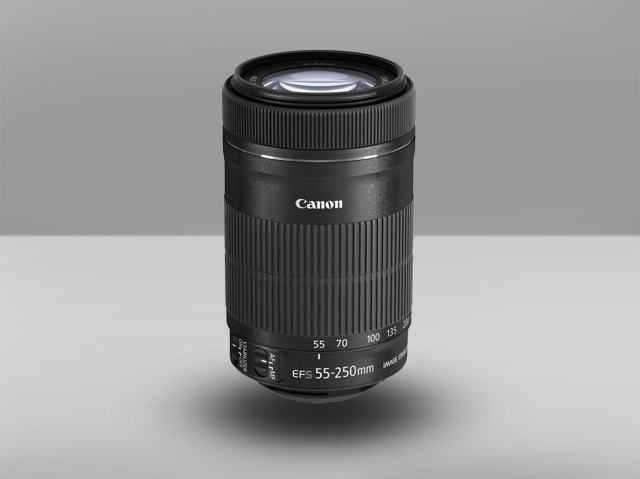 CANON EF-S 55-250 Лучшие объективы для Canon 1200D