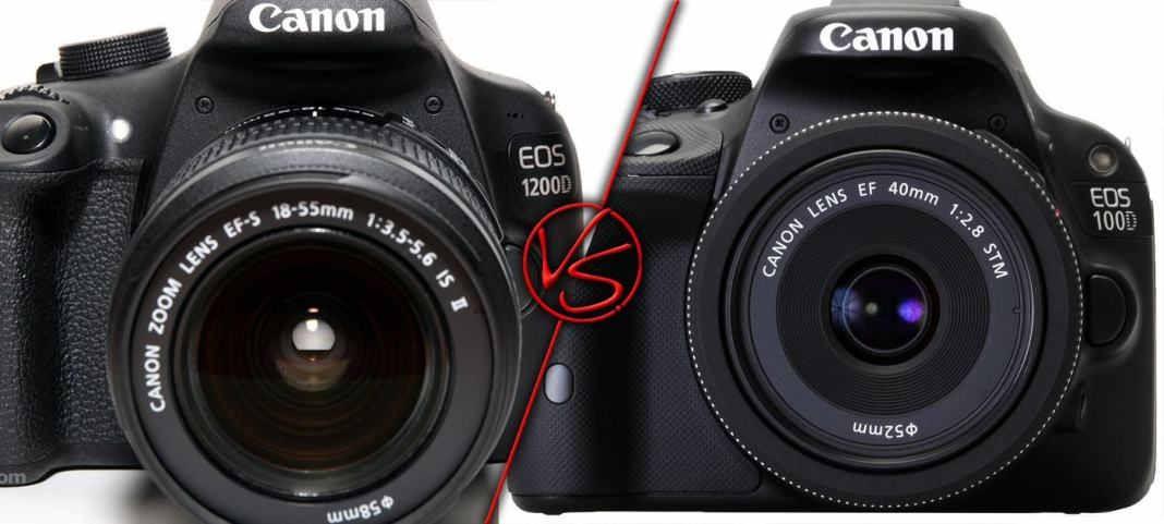 Canon 1200D vs Canon 100D