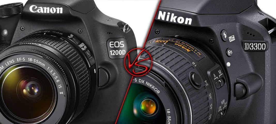 Canon EOS 1200D vs Nikon D3300