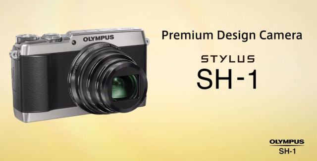 Анонсирована Olympus Stylus SH-1