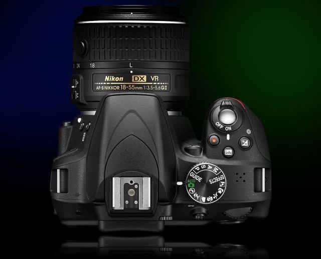 Nikon d3300 top