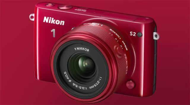 nikon 1 S2 red