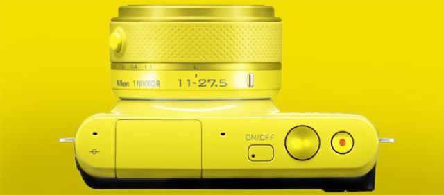 Nikon 1 S2 top