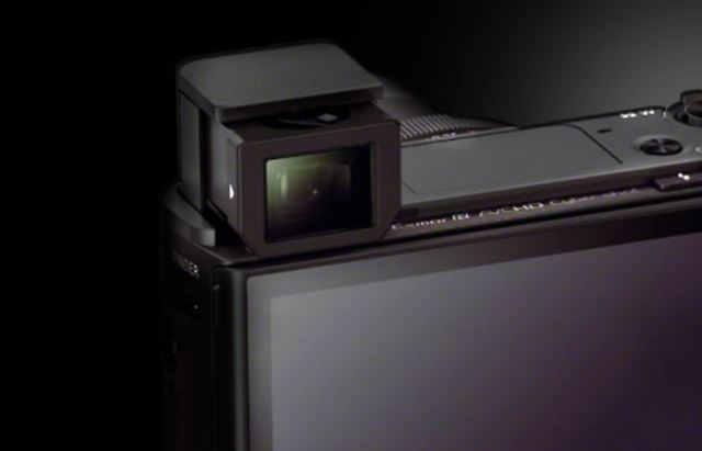 Sony DSC-RX100 III видоискатель