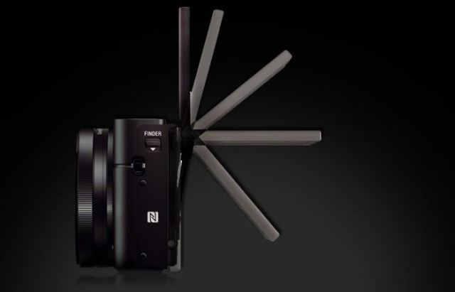 дисплей Sony DSC-RX100 III