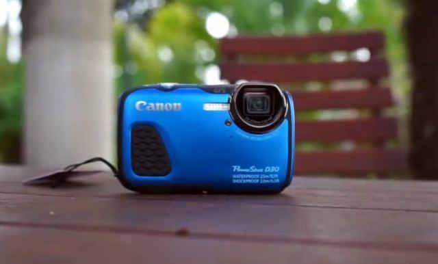 Водонепроницаемая камера Canon PowerShot D30
