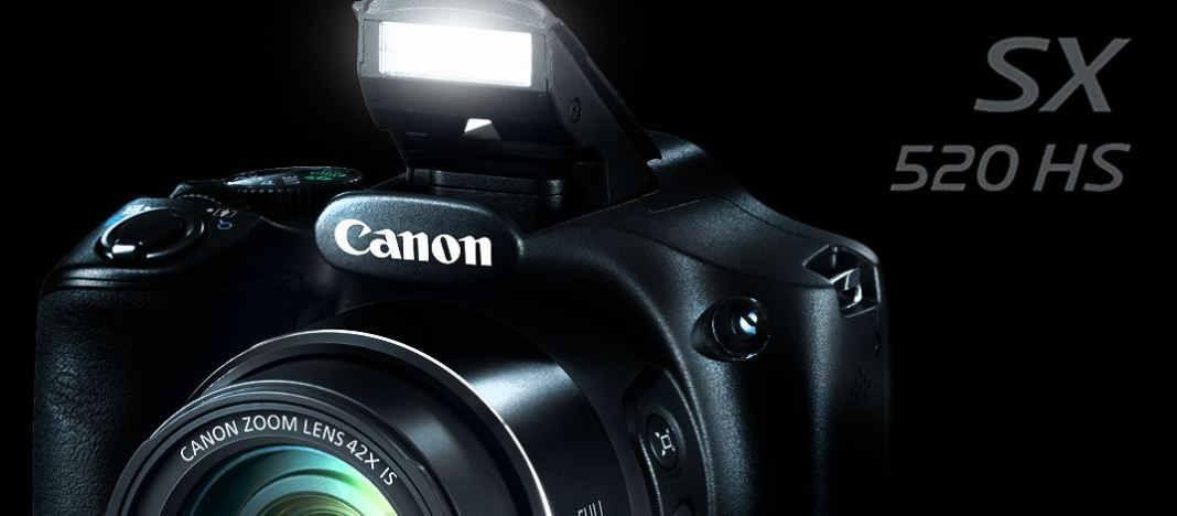 обзор Canon PowerShot SX520 HS