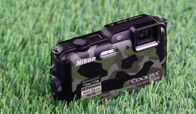 Лучший водонепроницаемый фотоаппарат 2014 Nikon Coolpix AW120