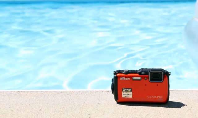 Nikon Coolpix AW120 водонепроницаемая камера с функцией GPS и встроенными картами
