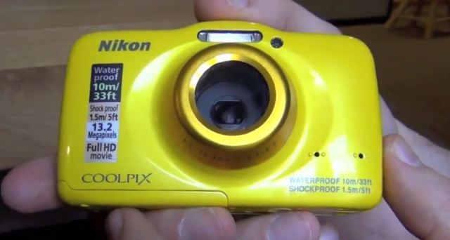 водонепроницаемый фотоаппарат Nikon Coolpix S32