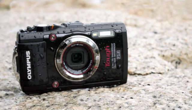 Olympus Tough TG-3 Самый лучший водонепроницаемый фотоаппарат 2014