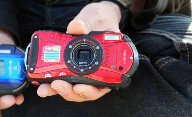 Ricoh WG-20 Водонепроницаемая камера