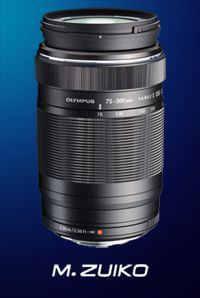 Olympus M.ZUIKO DIGITAL ED 75-300mm f4.8-6.7 II объективы для OLYMPUS OM-D E-M10