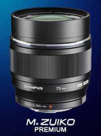 объектив для Olympus OM-D E-M10 M.Zuiko Digital ED 75mm F1.8