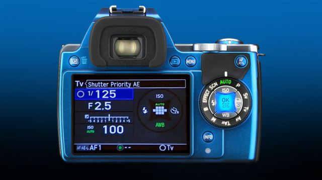 дисплей Pentax K-S1