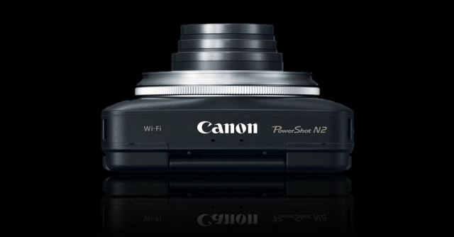 Canon PowerShot N2 top