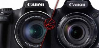 Canon SX50 HS vs Canon SX60 HS