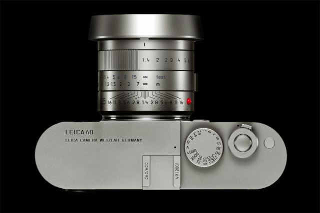 Leica M Edition 60 top