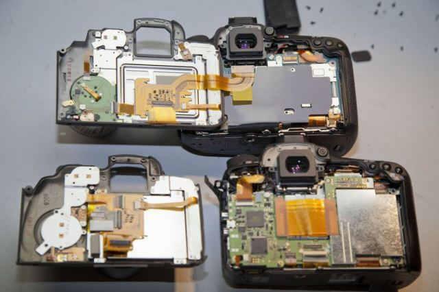 вскрытие Canon 7D Mark ii