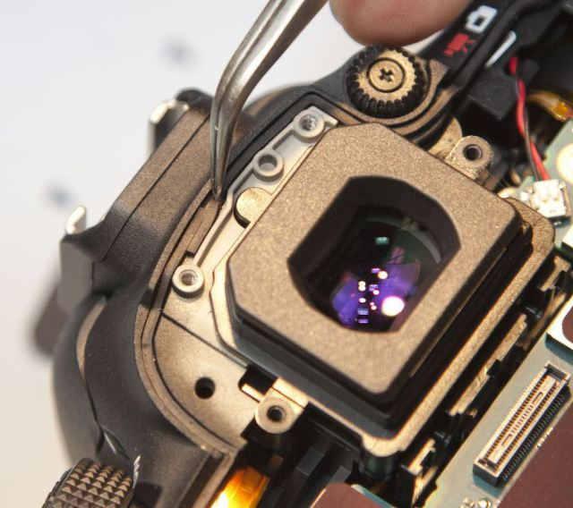 Canon 7D Mark II уплотнитель видоискателя