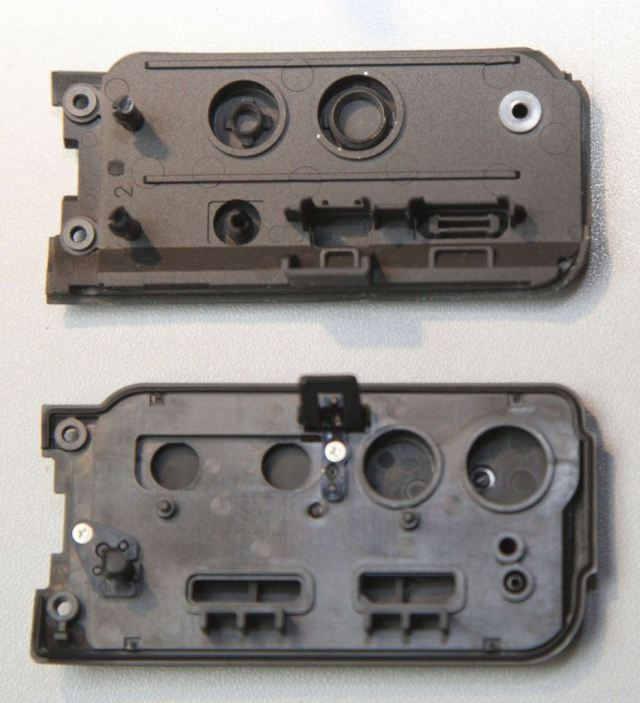 боковые панели разьемов canon EOS 7d