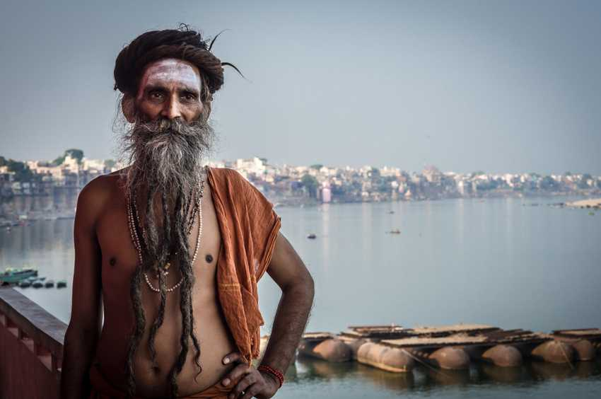 (c) Christopher Roche, Ireland, Entry, Open Compeition, 2015 Sony World Photography Awards 'Baba Hensanandsarosati' Baba Hensanandsarosati has been a sadhu since he was 10 years old, traveling across the subcontinent of India for many years before settling in Varanasi. In this photograph at his ashram above the Ganges I liked the way his body language appears relaxed yet confident and almost challenging.