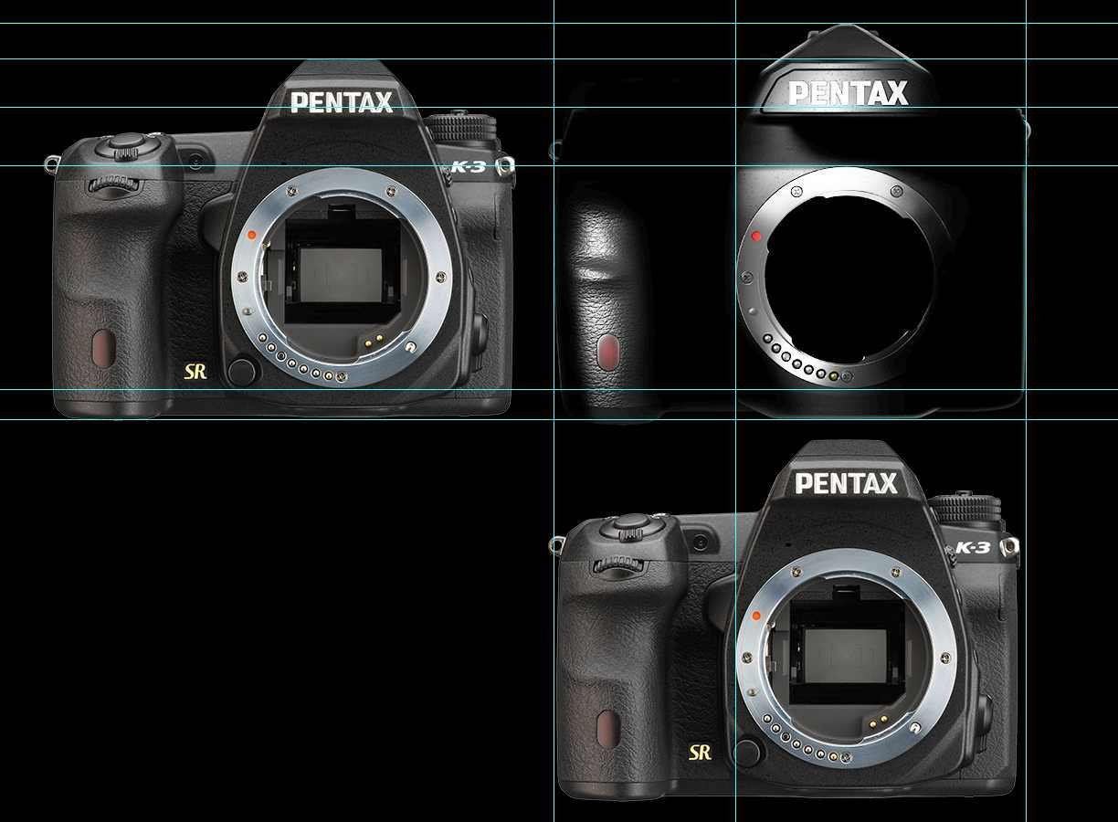 Size-of-the-Pentax-full-frame-DSLR-camera-compared-to-the-K-3