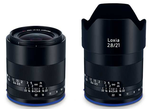 The new ZEISS Loxia 2.8/21 super wide-angle for full-frame cameras with Sony E-mount.