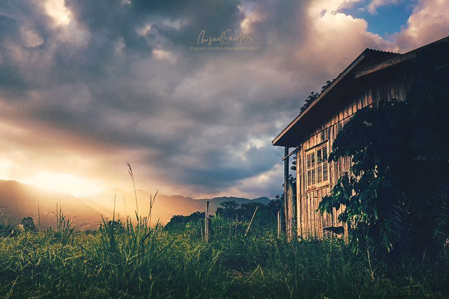 cabin_sunset_by_miguel_santos-d79b2xd