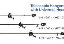 Kupo Telescopic Hanger with Universal Head