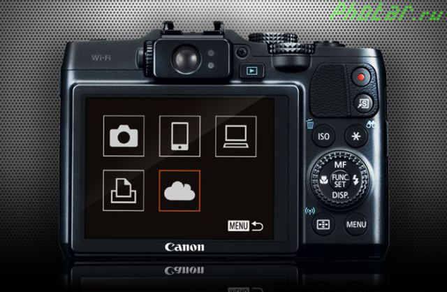 обзор вайфай фотоаппарата кэнон повершот г16