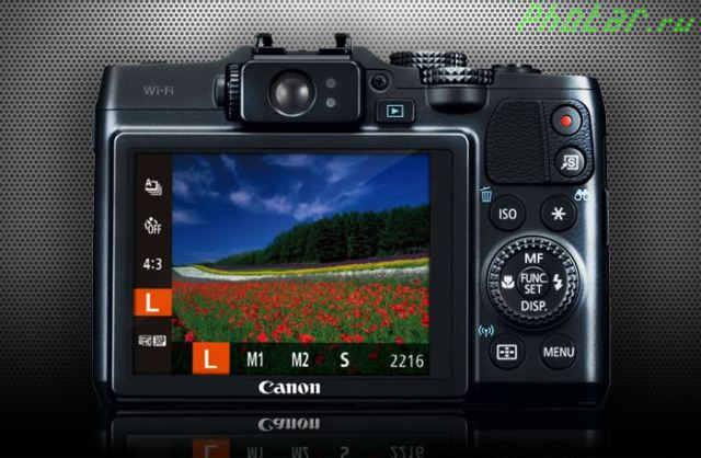 разрешение PowerShot G16